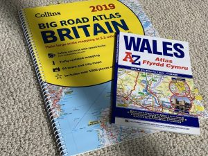 Photo of road atlas's